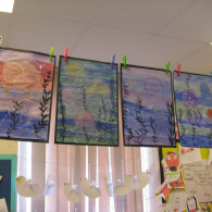 Inspired-by-the-story-Somebody-swalloed-Stanley-we-created-pastel-and-water-colour-pictures-of-jellyfish-2
