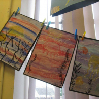 Inspired-by-the-story-Somebody-swalloed-Stanley-we-created-pastel-and-water-colour-pictures-of-jellyfish-4