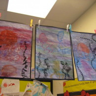 Inspired-by-the-story-Somebody-swalloed-Stanley-we-created-pastel-and-water-colour-pictures-of-jellyfish-5