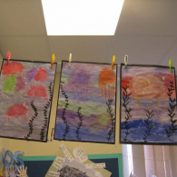 Inspired-by-the-story-Somebody-swalloed-Stanley-we-created-pastel-and-water-colour-pictures-of-jellyfish