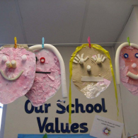 Self-portraits-uisng-recycled-materials