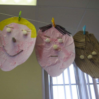Self-portraits-using-recycled-materials-3
